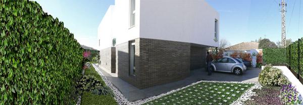 Jard n para vivienda unifamiliar grell for Viviendas jardin